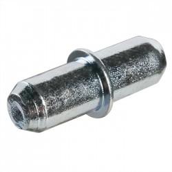 Taquet d'étagère Duplo - 5 mm - Acier zingué - HETTICH - Équerre / Taquet - SI-430008