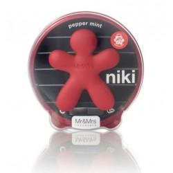 Diffuseur de parfum pour voiture - Niki - Pepper Mint - Rouge mat - JEFF JOY FRAGRANCES - Accessoires auto / vélo - DE-302232