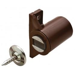Loqueteau magnétique à visser - 3/4 Kg - Marron - HAFELE - Targette / Loqueteau - SI-436063