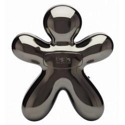 Diffuseur de parfum pour voiture / enceinte Bluetooth - George - Anthracite chromé - JEFF JOY FRAGRANCES - Accessoires auto /...