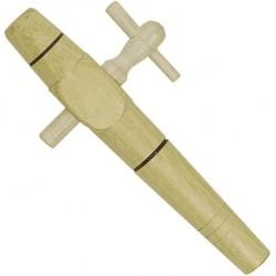 Robinet vinaigrier en bois d'Acacia - 27 mm - LA JOCONDIENNE - Pour huile, vinaigre et condiment - DE-112664