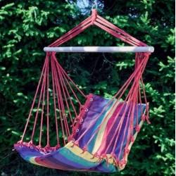 Hamac / Fauteuil suspendu - Rayé multicolore - OZALIDE - Accessoires pique-nique / camping / détente - DE-520172