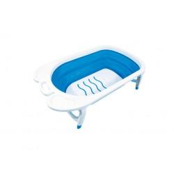 Baignoire pliante - Bébé - Bleu / Blanc - GODONNIER - Enfants / Protection enfants - DE-541079