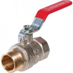 """Vanne d'arrêt - Mâle 20 x 27 mm - 3/4"""" - Femelle 3/4"""" - SIDER - Vannes et raccords robinets - SI-160274"""