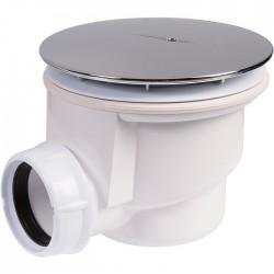 Bonde receveur de douche plastique - Horizontale - 90 mm - NICOLL - Bondes pour lavabo / Bidet / Douche - SI-619041