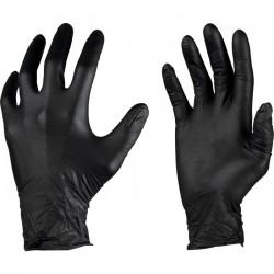 Gants professionnels indéchirables - Black Mamba - Boîte de 100 - Gants de bricolage - SI-350011