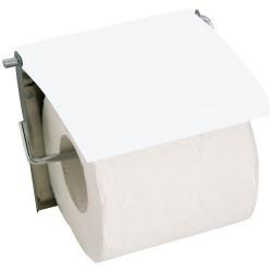 Porte rouleau - Inox / MDF - Blanc - MSV - Accessoires WC - DE-505620