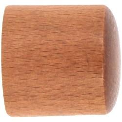 Embout de barre bouchon x 2 - Bois - Merisier - D 28 mm - MOBOIS - Accessoires rideaux - DE-512534