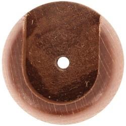 Naissance x 2 - Bois - Merisier - D 28 mm - MOBOIS - Accessoires rideaux - DE-384081