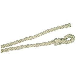 Longe - Chanvre - 4 m / D 12 mm - Beige - CHAPUIS - Chevaux - DE-550997