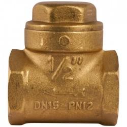 """Clapet à battant à disque nitrile - Femelle 15 x 21 mm - 1/2"""" - ITAP - Clapet anti-retour et filtre à tamis - SI-254015"""