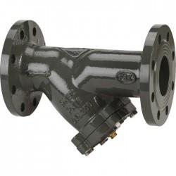 Filtre à tamis en fonte - A bride - 350 x 100 mm - DN 100 - SFERACO - Clapet anti-retour et filtre à tamis - SI-111001