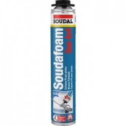 Mousse polyuréthanne - Soudafoam Gun 4x4 - Pistolable - 750 ml - SOUDAL - Étanchéité / Isolation - SI-101913