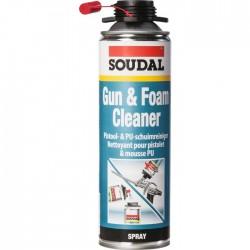 Nettoyant mousse polyuréthanne - Gun & Foamcleaner - 500 ml - SOUDAL - Étanchéité / Isolation - SI-164964
