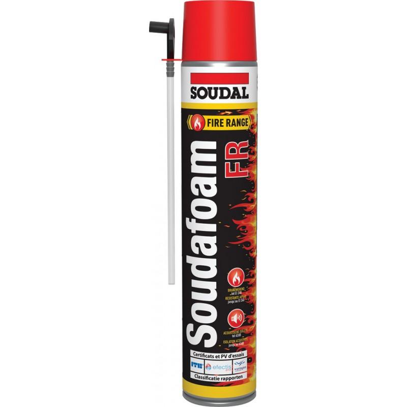 Mousse polyuréthanne coupe-feu - Soudafoam FR - 750 ml - SOUDAL - Étanchéité / Isolation - SI-902392