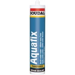 Mastic de réparation - Aquafix - 300 ml - SOUDAL - Mastic maçonnerie - SI-164966
