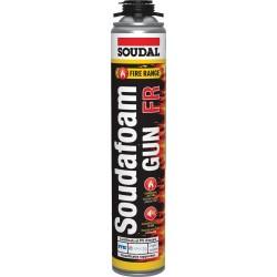 Mousse polyuréthanne coupe-feu - Soudafoam FR Gun - 750 ml - SOUDAL - Étanchéité / Isolation - SI-904033