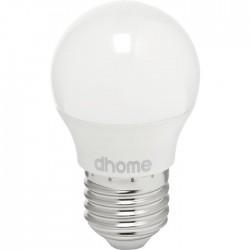 Ampoule LED sphérique - E27 - 3 Watts - 2700K - DHOME - Ampoules LED - BR-249121