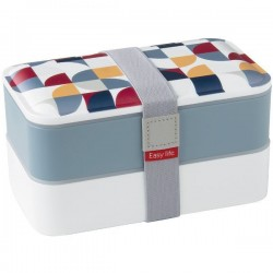 Lunchbox - Gris - EASY LIFE - Conservation / Boite / Emballage - DE-555484