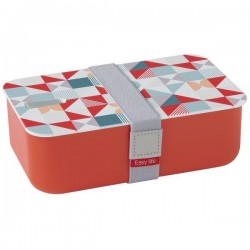 Lunchbox - 1 compartiment - Orange - EASY LIFE - Conservation / Boite / Emballage - DE-555518