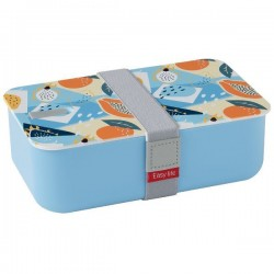 Lunchbox - 1 compartiment - Bleu Ciel - EASY LIFE - Conservation / Boite / Emballage - DE-555526