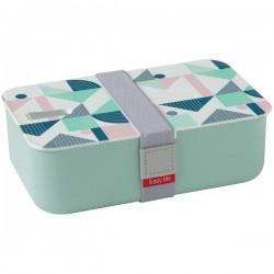 Lunchbox - 1 compartiment - Vert d'eau - EASY LIFE - Conservation / Boite / Emballage - DE-555534