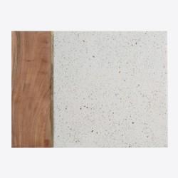 Plateau rectangle - Eléments - Pierre / Bois - 30 x 39.5 cm - TYPHOON - Assiette / plat / plateau / coupelle - DE-553918