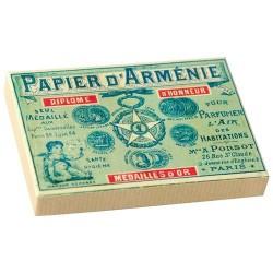 Papier d'Arménie - Boite 1900 - 12 carnets - PAPIERS D'ARMENIE - Parfum d'intérieur - DE-308750