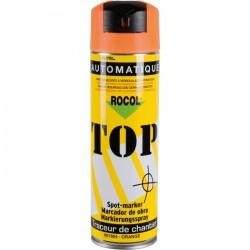Traceur de chantier en bombe - Orange - 650 ml - ROCOL - Traceur de chantier - SI-303186