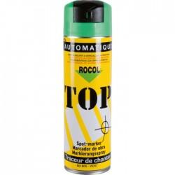 Traceur de chantier en bombe - Vert - 650 ml - ROCOL - Traceur de chantier - SI-303194