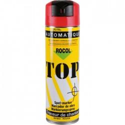 Traceur de chantier en bombe - Rouge - 650 ml - ROCOL - Traceur de chantier - SI-258377