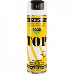 Traceur de chantier en bombe - Blanc - 650 ml - ROCOL - Traceur de chantier - SI-258393