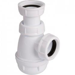 Siphon pour bidet et lavabo - Forme P et S - Blanc - NICOLL - Siphons pour lavabo / Bidet / Baignoire - SI-150333