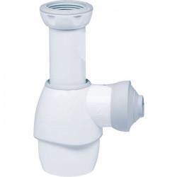 Siphon de lavabo souple - Blanc - 32 mm - WIRQUIN - Siphons pour lavabo / Bidet / Baignoire - SI-101088