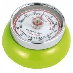Minuteur de cuisine aimanté - Vert Kiwi - ZASSENHAUSS - Minuteur de cuisine - DE-736041