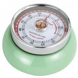 Minuteur de cuisine aimanté - Vert pâle - ZASSENHAUSS - Minuteur de cuisine - DE-741199