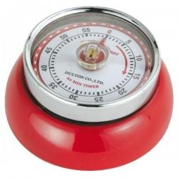 Minuteur de cuisine aimanté - Rouge - ZASSENHAUSS - Minuteur de cuisine - DE-723957
