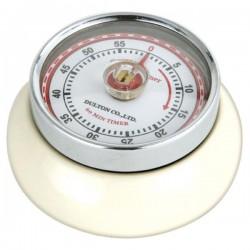 Minuteur de cuisine aimanté - Crème - ZASSENHAUSS - Minuteur de cuisine - DE-741157