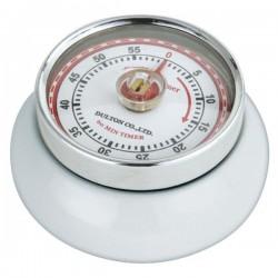 Minuteur de cuisine aimanté - Blanc - ZASSENHAUSS - Minuteur de cuisine - DE-722819