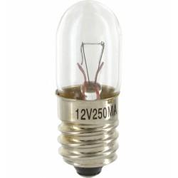 Ampoule culot E10 - 12 V - 0,25 A - 3 W - LEGRAND - Ampoules pour torches et lampes de poche - BR-611190