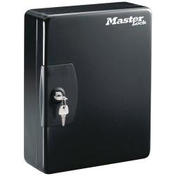 Armoire àclés - 25 clés - Noir - MASTER LOCK - Boite à clés - DE-683771