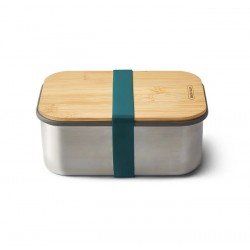 Lunchbox - 1.25 L - Inox / Bambou - Océan - BLACK + BLUM - Conservation / Boite / Emballage - DE-529504
