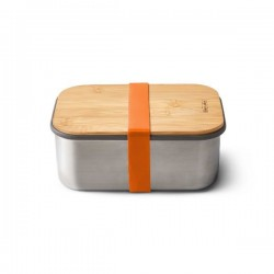 Lunchbox - 1.25 L - Inox / Bambou - Orange - BLACK + BLUM - Conservation / Boite / Emballage - DE-529512