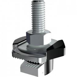 Double-écrou FHS CLIX - Fixation rapide - 8 x 40 mm - FISCHER - Écrou - SI-319726
