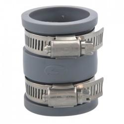Manchon droit souple multi-matériaux - Femelle - GIRPI - Raccords PVC évacuation - SI-120041