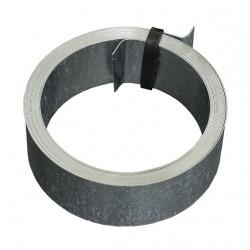 Feuillard pour fixation cheminée - 5 M - Acier galvanisé - ERARD - Ruban adhésif fixateur - 4100