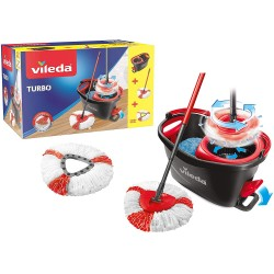 Kit de nettoyage ultra performant - Wring & Clean TURBO Set Complet - VILEDA - Serpillière - DE-187633