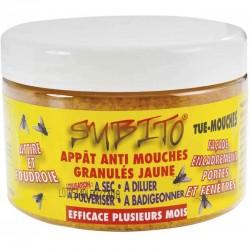 Appât en granulés - Anti-mouches - 250 Grs - SUBITO - Insectes volants - SGRA250