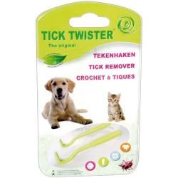 Crochets à tiques - Lot de 2 tailles - Tick Twister - MARTIN SELLIER - Chiens - DE-611467