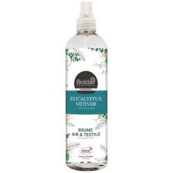 Brume parfumée - Air / Textiles - Eucalyptus / Vétiver - 400 ml - BOLDAIR - Parfum d'intérieur - DE-574369